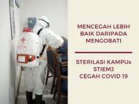 STIE Muhammadiyah Melakukan Sterilisasi Kampus