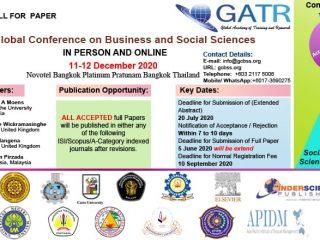 Call For Paper GATR