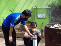 Dr. Peggy Ratna M: STIE Muhammadiyah Jakarta mampu menjadi pelopor sosialisasi pemulihan krisis air bersih melalui sumur resapan biopori