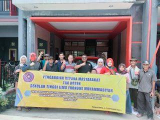 Kegiatan PkM STIE Muhammadiyah Jakarta Pengembangan Lembaga Zakat Infaq Sedekah di Desa Cihanjawar, Purwakarta